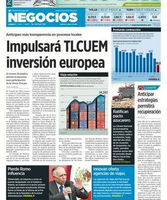 Impulsará TLCUEM inversión europea
