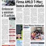 Firma AMLO T-Mec; busca ahora violarlo